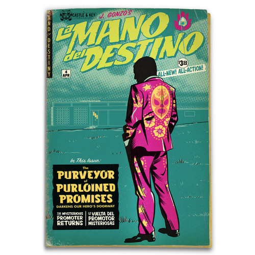 La Mano del Destino issue 4 cover