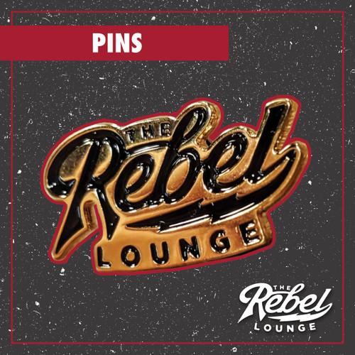 The Rebel Lounge Enamel Pin