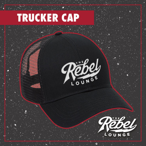 The Rebel Lounge Embroidered Trucker Caps
