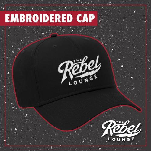 The Rebel Lounge Embroidered Caps