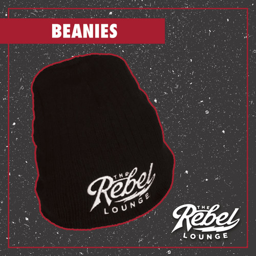 The Rebel Lounge Embroidered Beanies