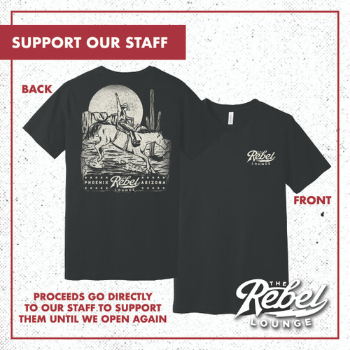 Shirt + Marquee Message + 4 Tickets: Support Our Staff  - Limited T-Shirt