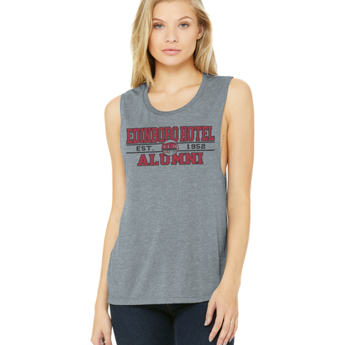 Alumni Muscle Tank: Ladies Grey