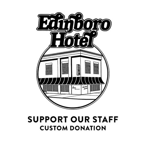 Edinboro Hotel Tip Jar - Support Staff