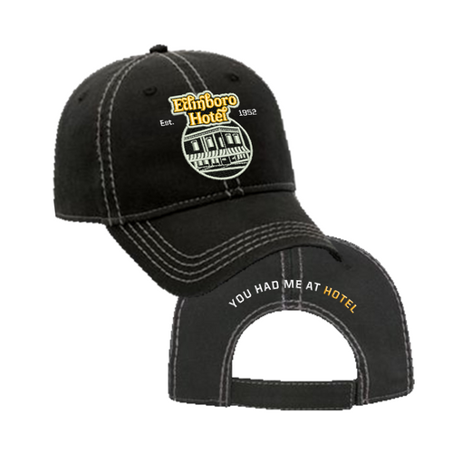 Edinboro Hotel Logo Hat