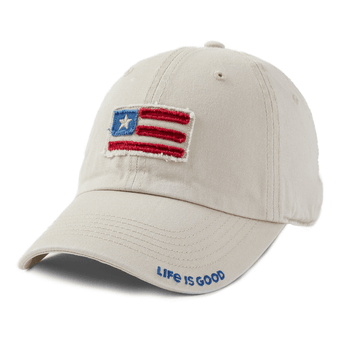 Life is Good American Flag Hat