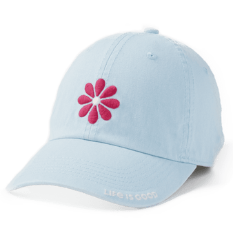 Life is Good Pink Petal Hat