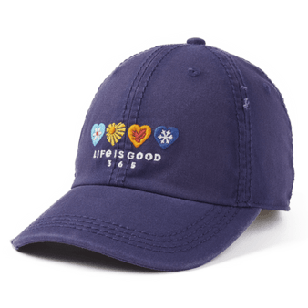 Life is Good 365 Hearts Hat