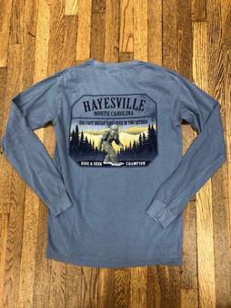 Bigfoot Hayesville, NC Long Sleeve Tee