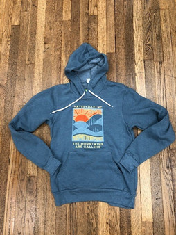 Hayesville, NC The Mountains are Calling Hoodie