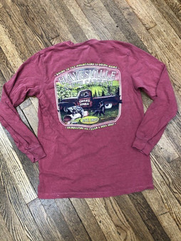 Tiger's and Chinquapins Long Sleeve Tee - Hayesville, NC