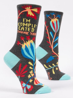 I'm Complicated Thank You Socks