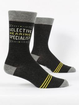 Selective Hearing Specialist Men's Socks