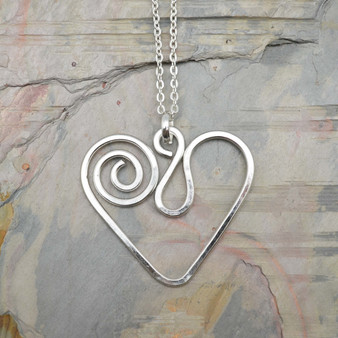 Freya Heart Necklace by Anju
