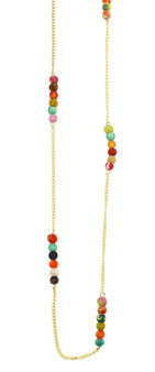 Aasha Beaded Necklace by Anju