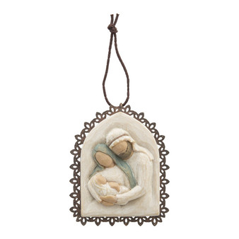 Holy Family Ornament by Willow Tree