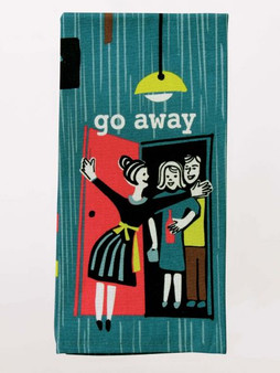 Go Away - Tea Towel