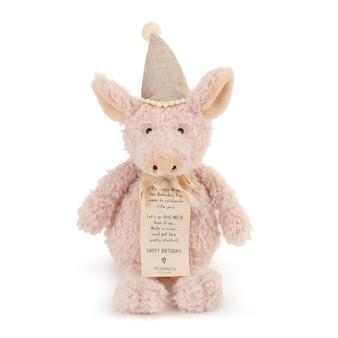 Piggy Wigg the Birthday Pig Plush Toy