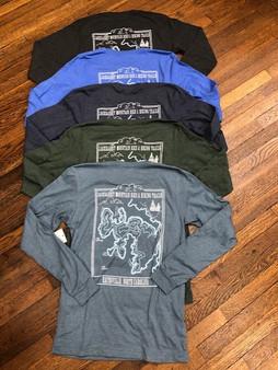Jackrabbit Mountain Bike and Hiking Trail Long Sleeve Shirt