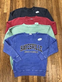 Hayesville, NC Super Soft Sweatshirt - Crew Neck