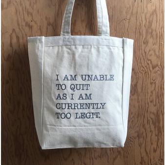 Legit Tote Bag