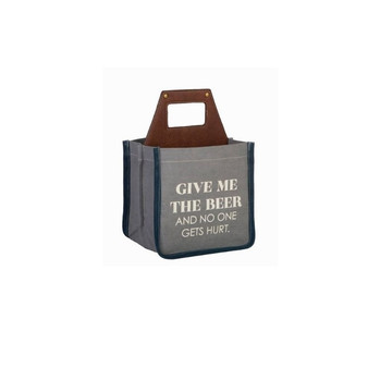 Mona B. Give me Beer Upcycled Beer Caddy