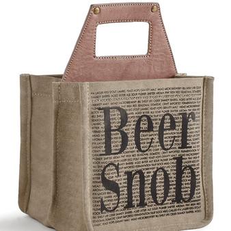 Mona B. Beer Snob Up-Cycled Beer Cadd