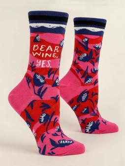 Dear Wine, Yes.  Women's Socks