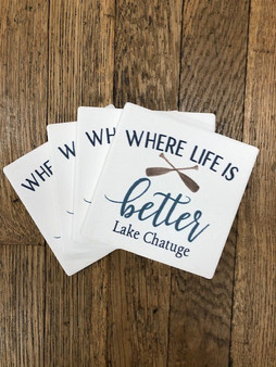 Where Life is Better - Lake Chatuge Coasters