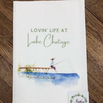 Lovin' Life at Lake Chatuge Towel