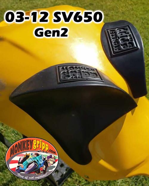 03-12 Suzuki SV650 Gen2 & 03-07 SV1000Two-piece MonkeyGripps