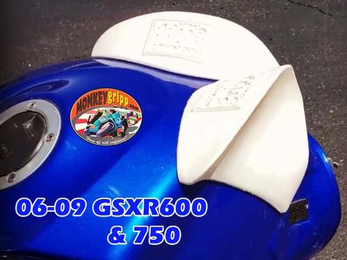 06-10 Suzuki GSXR 600 & 750 Two-piece MonkeyGripps