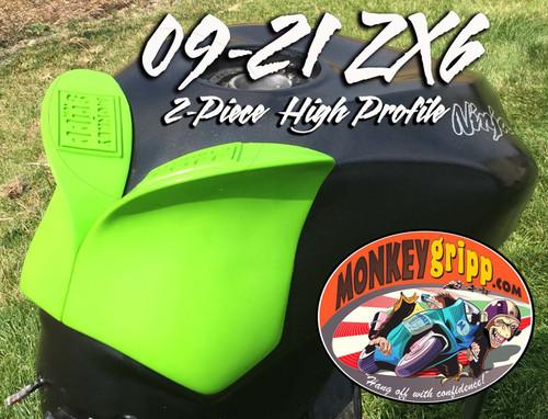 "09-21 Kawasaki Ninja ZX6 Two-piece ""High Profile"" MonkeyGripps"