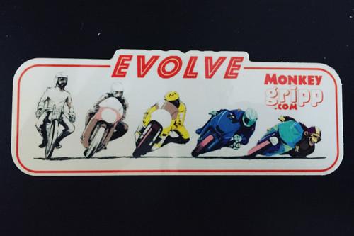 MonkeyGripp Evolve Sticker