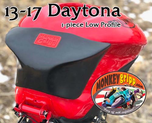 "13+ Triumph Daytona Gen3 One-piece ""Low Profile"" MonkeyGripp"