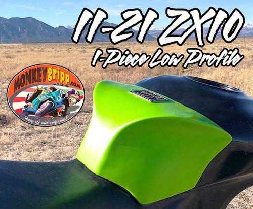 """11-21 Kawasaki ZX10 One-Piece """"Low Profile"""" MonkeyGripp"""