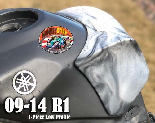 """09-14 Yamaha YZF-R1 One-Piece """"Low Profile"""" MonkeyGripp"""