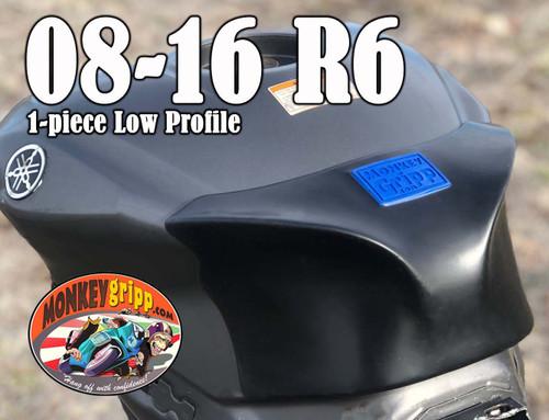 """08-16 Yamaha YZF-R6 One-piece """"Low Profile"""" MonkeyGripp"""