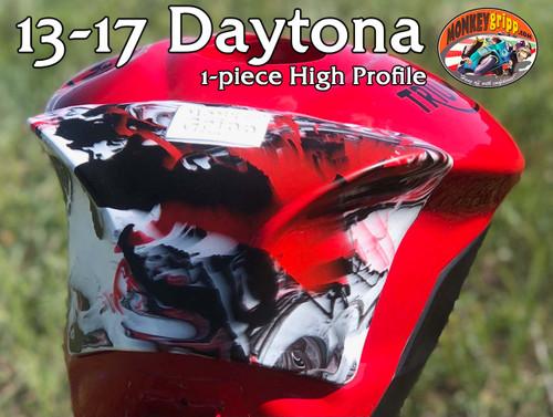 "13+ Triumph Daytona Gen3 One-piece ""High Profile"" MonkeyGripp"