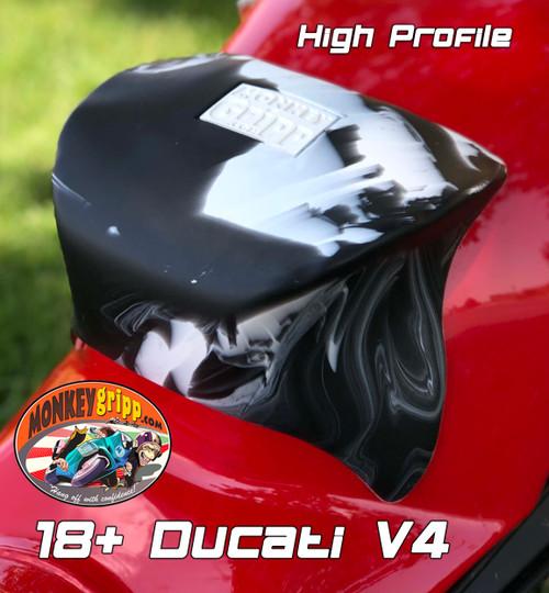 "18+ Ducati Panigale V4 & Superleggera One-piece ""High Profile"" MonkeyGripp"