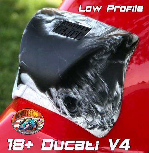"18+ Ducati Panigale V4 & Superleggera One-piece ""Low Profile"" MonkeyGripp"