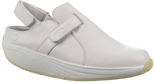 Mbt Flua Clog Mens Category: Slip Ons Color: White ItemNumber: M700490-16