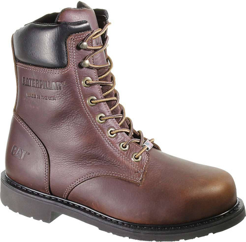 Caterpillar Liberty Steel Toe 8 Inch Boot Mens Category: Boots Color: Brown ItemNumber: MP90239