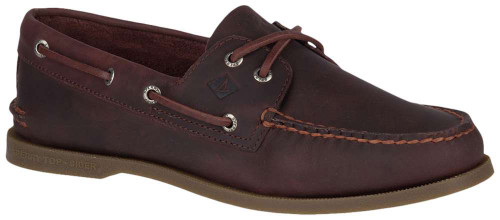 Sperry Authentic Original 2 Eye Pullup Mens Category: Boat Color: Brown ItemNumber: MSTS18311