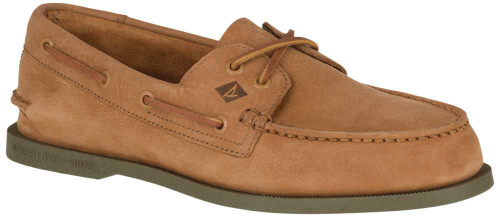 Sperry Authentic Original 2-Eye Washable Mens Category: Boat Color: Tan - Olive ItemNumber: MSTS18315
