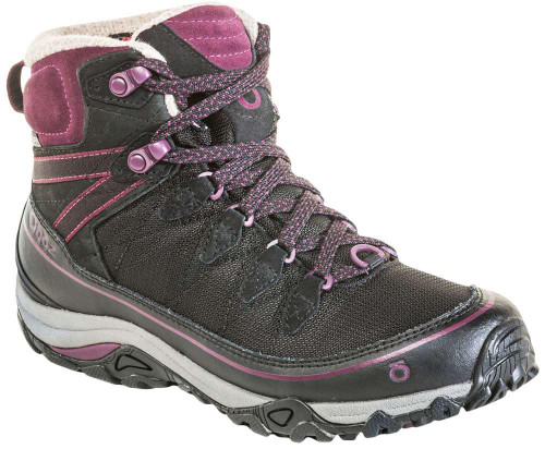 Oboz Juniper 6 Inch Insulated BDry Womens Category: Boots Color: Black - Beet ItemNumber: W80702BLBE