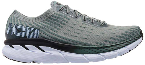 Hoka One One Clifton 5 Knit Mens Category: Running Color: Silver Pine - Chinois Green ItemNumber: M1094309-SPCGN