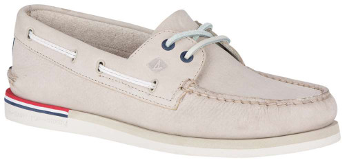Sperry Authentic Original 2-Eye Nautical Mens Category: Boat Color: Cement ItemNumber: MSTS18320
