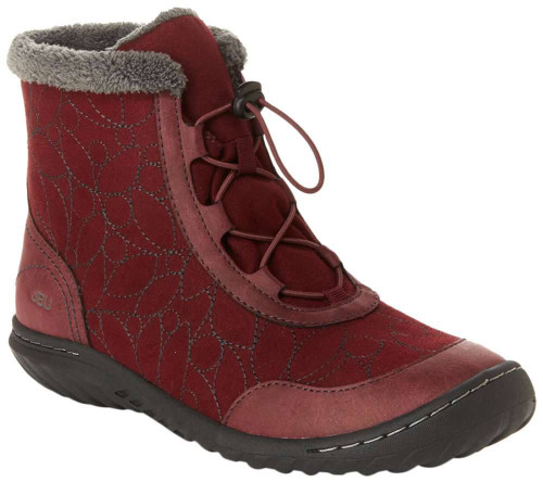 Jbu Tandee Womens Category: Boots Color: Wine ItemNumber: WJB18TDE05