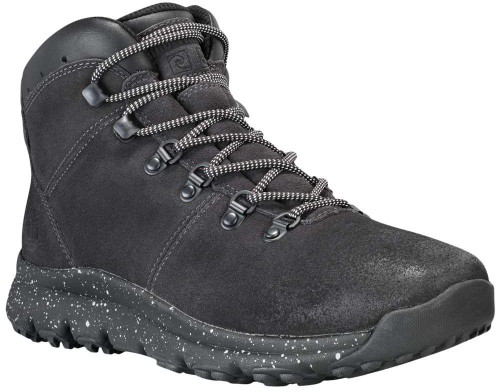 Timberland World Hiker Mid Mens Category: Boots Color: Dark Grey Suede ItemNumber: MTB0A1RCKC64